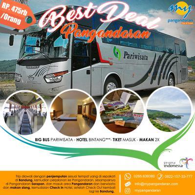 Paket Wisata + Bus Start Bandung